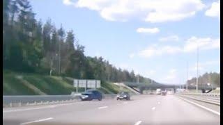 Опасное вождение: на высокой скорости