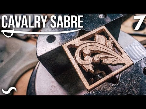 MAKING THE CAVALRY SABRE: Part 7
