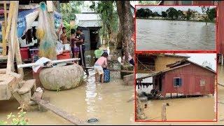 ទឹកបានជន់លិចមានចំនួន ១០ ក្រុង, ស្រុក លើ ១៣ ក្រុង ស្រុក ក្នុងខេត្តព្រៃវែង|Khmer News Sharing