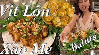 Cách làm hột vịt lộn xào me ăn là ghiền - Baluts in tamarind sauce - Taylor Recipes - Cuộc sông Mỹ