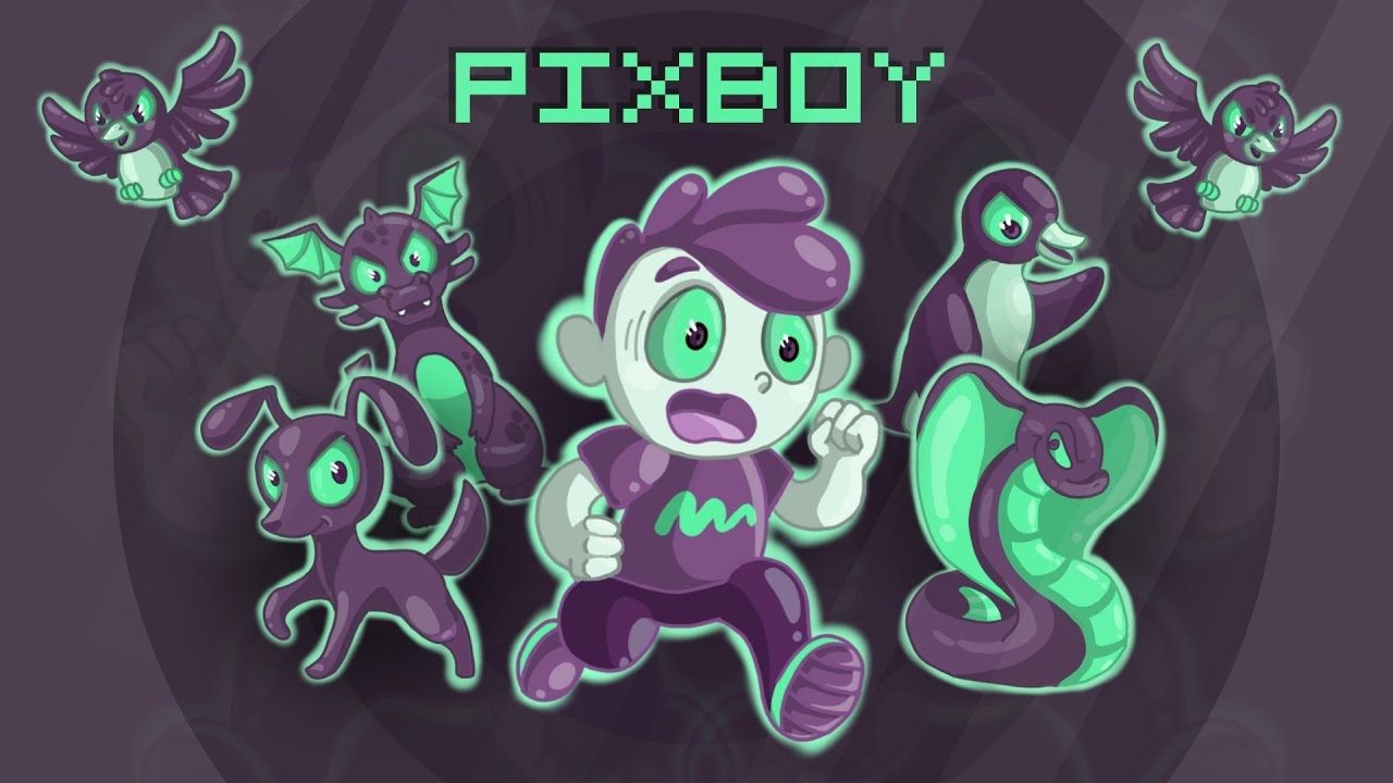 Pixboy Trailer (Steam, Nintendo Switch, Android & iOS)