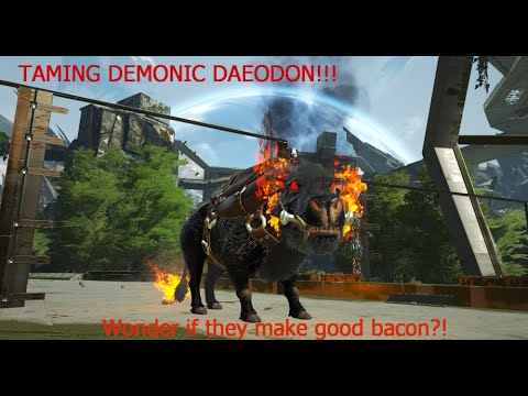 Taming The Demonic Daeodon Pig Ark Extinction Primal Fear Youtube Admincheat summon daeodon_character_bp_c or admincheat spawndino blueprint'. taming the demonic daeodon pig ark extinction primal fear