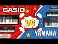 CASIO VS YAMAHA - битва домашних синтезаторов - YouTube