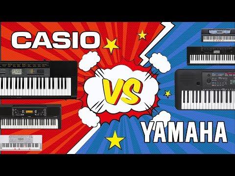 CASIO VS YAMAHA - битва домашних синтезаторов