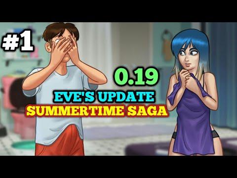 EVE'S UPDATE QUEST | SUMMERTIME SAGA 0.19 | WALKTHROUGH PART #1