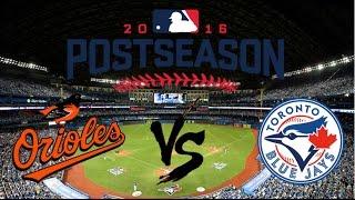 2016 AL Wild Card Highlights | Orioles vs Blue Jays