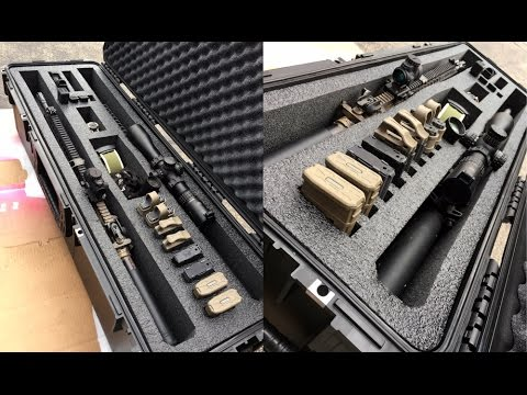"Ultimate AR15/AR10 Long Gun Storage | Tactical To Go ""Long Double"""