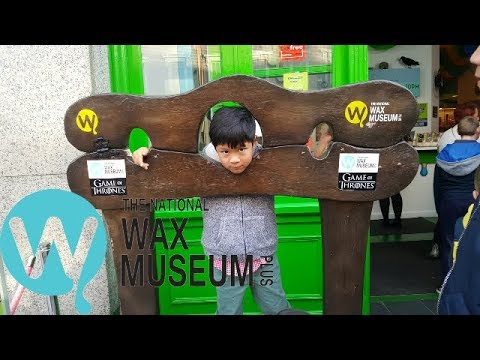 A FUN DAY IN NATIONAL WAX MUSEUM DUBLIN IN IRELAND | WHAT TO SEE INSIDE THE WAX MUSEUM