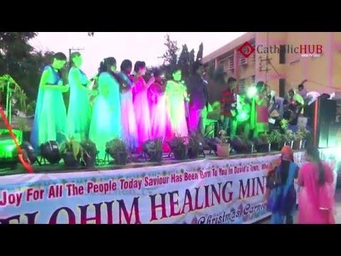 Christmas Float (Elohim Healing Ministries) @ Sec Bad,TS,INDIA, 20-12-2015.HD