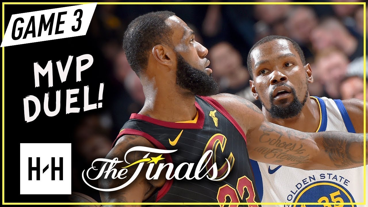78225fd9ea45 LeBron James vs Kevin Durant EPIC Game 3 Duel Highlights (2018 NBA Finals)  - KD CLUTCH SHOT!