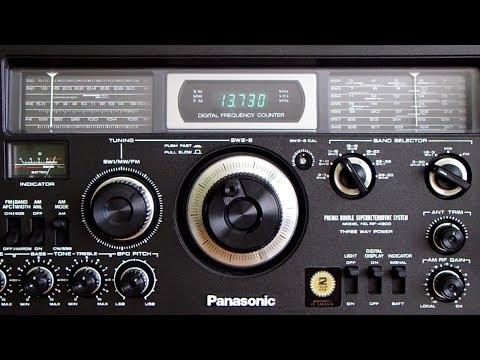 Panasonic RF-4900 - 13730 kHz - NHK World Radio Japan