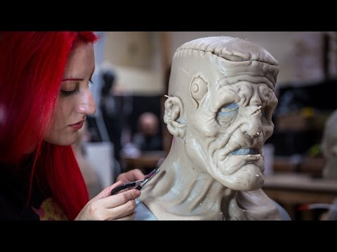 How Lifelike FX Creature Masks are Made