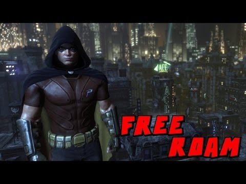 Batman Arkham City Robin Free Roam Mod