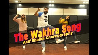 The Wakhra Song - Judgementall Hai Kya | Navv Inder,Lisa,Raja Kumari |Asif Shaikh Choreography|2019
