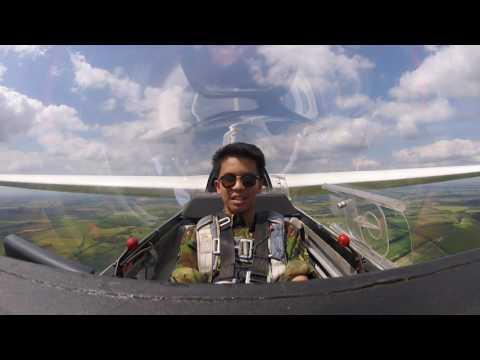 Air Cadet's 1st Glider Flight