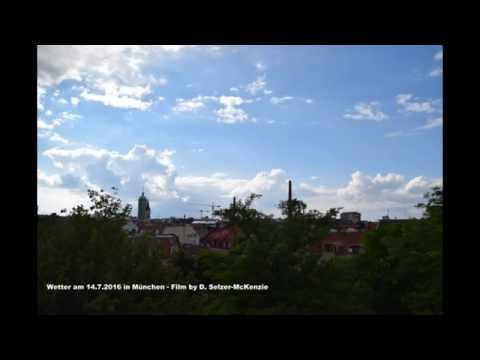 Wetter am 14.7.2016 in München