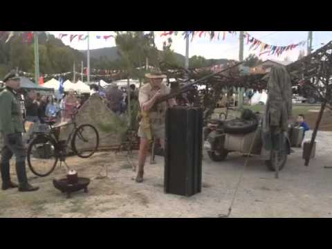 Ww2 reenactment boys anti tank rifle 55cal