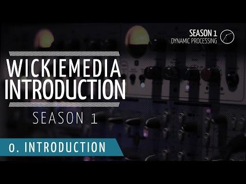 Wickiemedia Tutorial 01 - Introduction