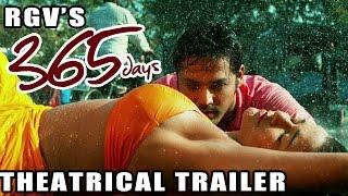 RGV's 365 Days Telugu Movie Theatrical Trailer : Nandu, Anaika : Latest Telugu Trailer 2015