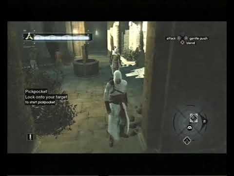Assassin's Creed, Career 280, Jerusalem: Middle District, Pickpocket