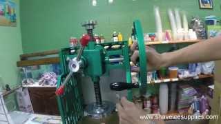 fujimarca shave machine