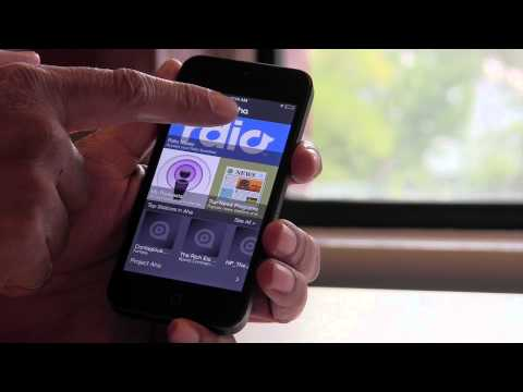 How To Use Rdio with Aha Radio
