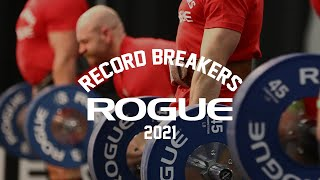 2021 Rogue Record Breakers Qualifier   Event 4 - Men's & Women's Raw Repetition Deadlift