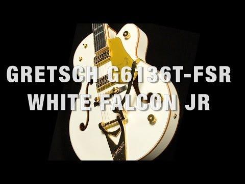 Gretsch G6136T-FSR White Falcon Jr Overview