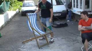 How To Set Up A Deck Chair!