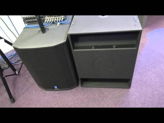 Présentation Turbosound chez Audiopole