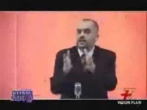 Edi Rama Crazy Albanian Politician - YouTube