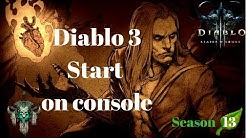 Diablo 3 - Season 13 - the start of the season PS4