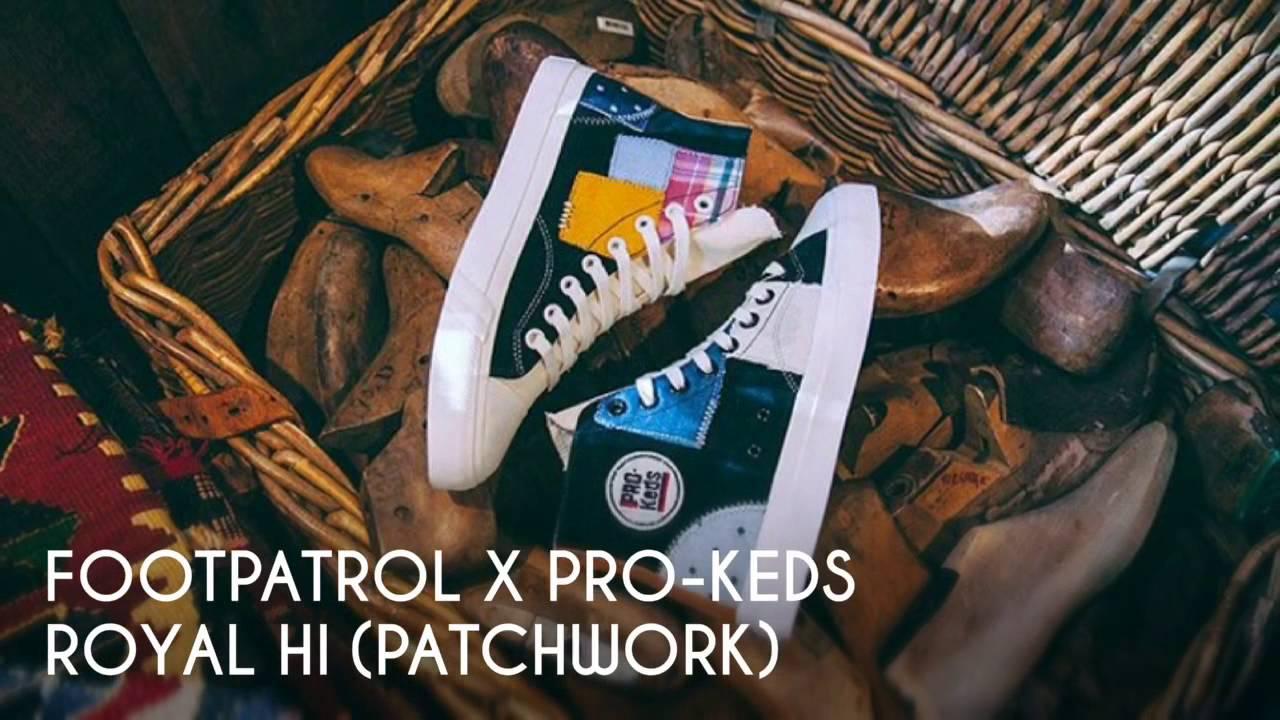 FOOTPATROL X PRO-KEDS ROYAL HI