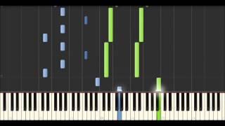Yann Tiersen - Atlantique Nord (Synthesia Tutorial)