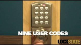 LockState RDJ Keyless Digital Door Lock