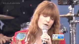 Florence + The Machine - What Kind Of Man (Live @ GMA Summer Concert)