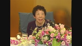 田辺聖子さんが死去 作家 文化勲章受章者