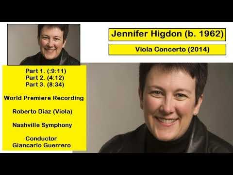 Jennifer Higdon (b. 1962) - Viola Concerto (2014)