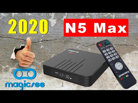 👍2020 Magicsee N5 Max Amlogic S905X3 4K TV Box Review