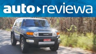 2015, 2016 Toyota FJ Cruiser Video Review - Australia