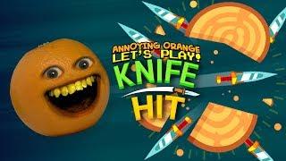 Knife Hit! [Annoying Orange Plays]
