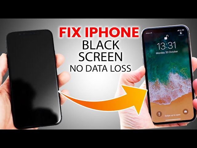 How to Fix iPhone Black Screen Without Losing Data 2021 | iPhone Black Screen Fix