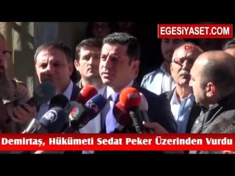 Demirtaş, Hükümeti Sedat Peker Üzerinden Vurdu