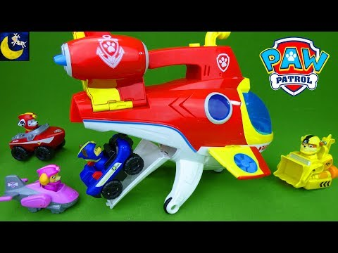 Paw Patrol Toys Sea Patrol Sub Patroller with Mini Pup Vehicles Submarine Ryder Marshall Boat Toys