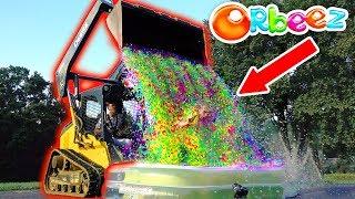 MEGA ORBEEZ WATERFALL!!