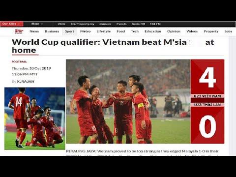 🛑Báo chí Quốc Tế nói gì trước trận Việt Nam vs Malaysia tại VL World Cup 2022