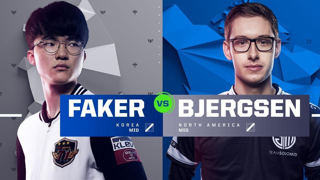 Faker vs. Bjergsen | Quarterfinals | 1v1 Tournament | 2017 All-Star Event