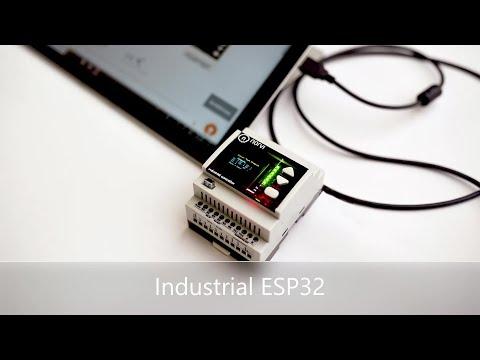 Industrial ESP32 PLC NORVI IIOT Features : Industrial Arduino ESP32 : IIOT With ESP32