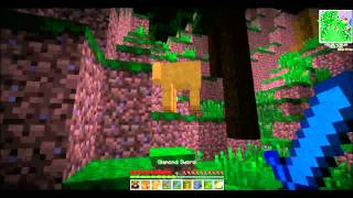 Lets Play Minecraft Episode 17: Rafikis Tree!