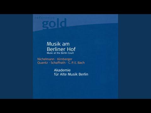 Overture In B Flat Major: III. Menuet I-II